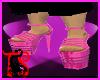*Pink Platform Sandals