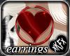 *KF* Heart Earrings