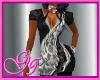 GG BLACK & SILVER SCRUB