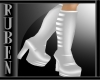 (RM)lolli silver boots