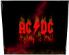 80s AC/DC Band Poster