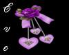 Bow of Love Purple
