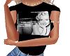 Marilyn M quote Tshirt