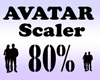 Avatar Scaler 80% / M