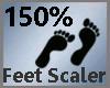Feet Scaler 150% M A