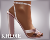 K mel pink heels