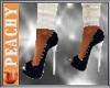 P~ heels black & white