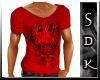 #SDK# Shirt Slayer Red