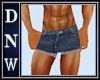Male Denim Shorts