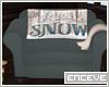 ENC. SNOWED IN CHAIR