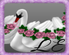 Beautiful Rose Swans 2