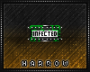 Badge: Infected.