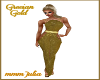 Grecian Gold Gown