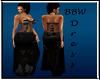 BBW Rosa Black gown