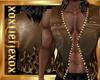 [L] GOLD FLAME Vest M