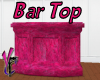 Pink N Blk Bar Top