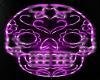 Prpl Neon Sugar Skull