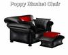 Poppy  Blanket Chair