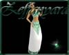 Z Priestess Gown - Green