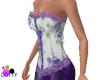 purple rose corset