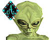 Ama{Alien avatar GREEN