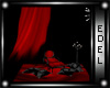 animated red curtain
