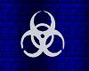 Biohazard Mesh Sign