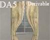 (A) Sheer Curtain/Window