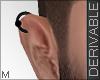 R_ Male Right Earring