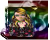 hair chiyo rainbow