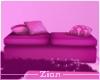 Sofa Bench Pink