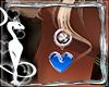Earings Blue Valentine