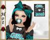 ~H~Girl Boss Pacifier An