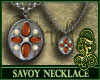 Savoy Necklace Orange