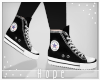 ♥! Converse | Black