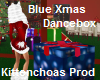 Blue xmas dance box