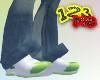 123me Light Green Runner