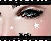 ☾ Face Stars |White|
