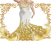 Golden Feather Gown