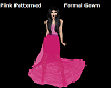 P/Patterned Formal Gown