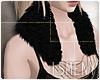 [Is] Fur Collar V1 Black