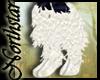 ~NS~ White ankle fur (R)