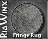 Wx:HR Round Gray Rug