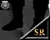 SR shiney black boots