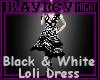 [R] B&W Loli Dress