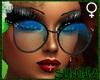 )S( BlueLagoon Glasses