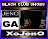 BLACK CLUB SHOES