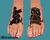 Tattooed Feet