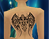 tribal back tatto