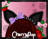 Creepy Kitty Purple